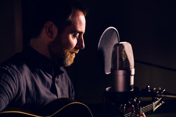 Luke Daniels recording sessions at Gorbals Sound Studio, Glasgow. April 2014.